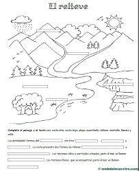 Dibujo De Las Formas Del Relieve Para Colorear Buscar Con Google Educacion Integral Estudios Sociales Educacion