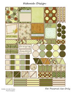 FREE Woodland Trail Planner Stickers by Keturah Design