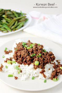 This Korean Beef recipe is perfect for a quick, easy and flavorful dinner! Serve it over rice for a meal the entire family will love! More