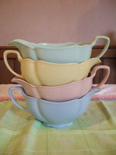 gravy boats (work great for hot fudge topping!)