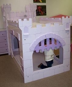 Girls Princess Castle Bunk Beds Diy Projects Around The