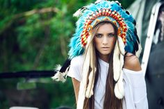 """I'm calling this racist BS out!  Her board has dozens of pins of skinny blonde girls in """"Tribal Boho headdresses"""".  I'll bet she think's blackface is funny because she has a black friend, and she listens to rap sometimes (but not too loudly).    Go to the pin source and let her know that cultural appropriation is NOT hip, cool, or edgy - and is most certainly not """"Bohemian"""".  While she's at it, she owes a big apology to Roma people, too.      *smdh*"""