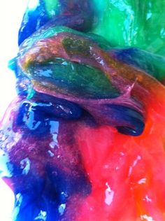 Two-Ingredient Rainbow Slime Is an Awesome Anytime Craft