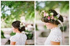 INDIAN SUMMER WORKSHOP, MARFA TEXAS : HEAD WREATHS | bows and arrows flowers, ryan ray photography, the dress theory, froufrou chic ribbon, stephanie nelson makeup