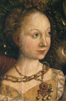 Altarpiece with the Martyrdom of St Catharine (central panel) - Detail  1506  Lucas Cranach the Elder