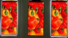 LG Display announced a 5.3-inch screen with a full-HD resolution of 1920x1080pixels and edging around 0.7 mm thick.