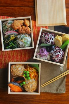 Japanese Rice Ball Bento