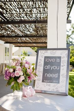 Frames have so many uses when it comes to your wedding décor! Check out 12 of our favourite here...