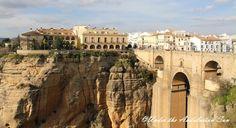 One of the famous bridges of Ronda