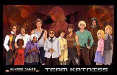 Tags: Anime, The Hunger Games, Katniss Everdeen, Peeta Mellark, Gale Hawthorne
