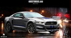2015 Ford Mustang Renderings Shed Light on New Design