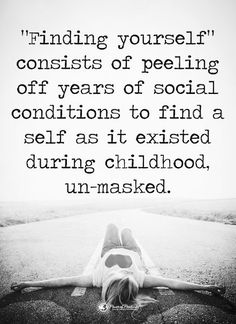 Finding Yourself, Childhood, Infancy, Soul Searching, Early Childhood