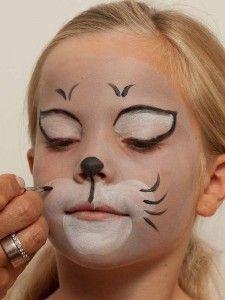 schminken wie katze