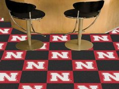 Want to show off your team pride in a big way? Carpet Tiles are great for Man Caves, game rooms, and basements! Tiles are easy to install, just use the adhesive strips that are included. 10 team tiles