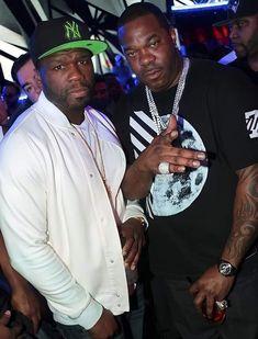 Rapper 50 Cent, Tyson Beckford, Busta Rhymes, Night Pictures, Tyga, Night Club, Photo Credit, Las Vegas, Kicks