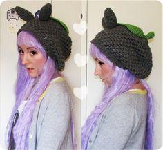 Slouchy Totoro hat pattern