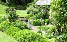 Inspiration for Sunken Rose Terrace (Portfolio garden 3 - Arne Maynard Garden Design)