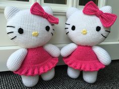 Ravelry: Big Hello Kitty pattern by Ella.D Design