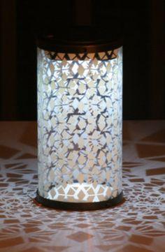 Fretwork Solar Lantern.