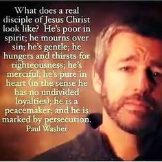 Paul Washer, on a true believer, a true disciple