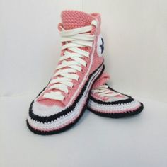 434c9d70ebb1a0 House slippers women Converse socks slippers Knitted converse