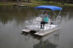 Aluma Sport 612 — Hotwoods Small Pontoon Boats, Small Boats, Electric Pontoon Boat, Pontoon Houseboat, Grand Island Nebraska, Electric Trolling Motor, Pedal Boat, Aluminum Decking, Boat Dealer