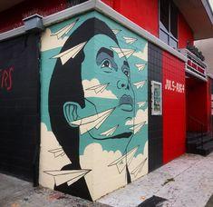 5 S, Murals, Black, Black People, Wall Paintings, Mural Painting, Wall Murals, Mural Art