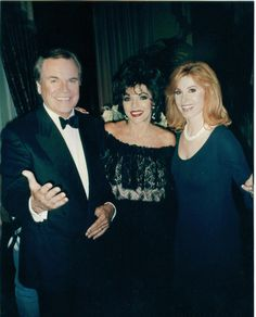 Jennifer Hart (Stefanie Powers), Jonathan (Robert Wagner) and special appearance Joan Collins - Hart to Hart (1979-1984)