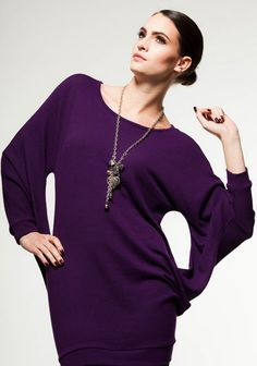 This avant-garde is a winner! Available in 5 hot colours for Fall2014 Fashion, Fall 14, Tunic Tops, Colours, Hot, Collection, Women, Style, Swag