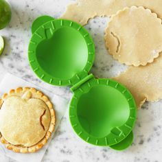 mini pie mold! $2.99 perfect for the many, many fried pies my sister makes us. too bad she never gets to eat one herself. @Joseph Surla table