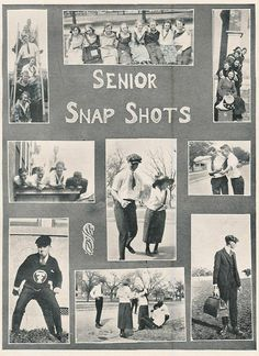 Those seniors obviously had a pretty good time: | This Small-Town Texas Yearbook From The '20s Is Absolutely Delightful