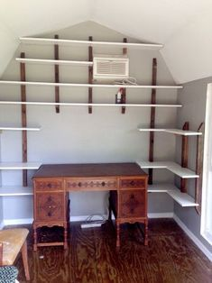 Garage Art Studio, Art Studio Decor, Art Studio Room, Studio Shed, Art Studio At Home, Home Art, Studio Ideas, Studio 202, Paint Studio