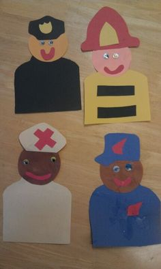 Community Helper Crafts For Toddlers - Craft : Arts and Education ...