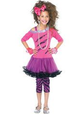 Girls 80s Rock Star Costume-Lori this is for you!