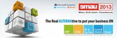 """#SMAU Milano 23-25 ottobre Fieramilanocity, ALTERNA è al Microsoft Village! Tante le novità: dalla piattaforma cloud Windows Azure, alle soluzioni """"on mobile"""", Office 365 e alle ultimissime release delle soluzioni #Microsoft Dynamics."""