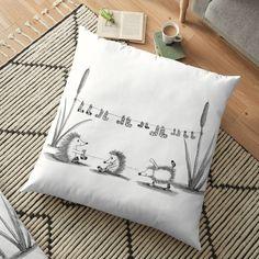 'Socks' Floor Pillow by PounceBoxArt Floor Pillows, Throw Pillows, Buy Socks, Canvas Prints, Art Prints, Cotton Tote Bags, Duvet Covers, Cushions, House Design