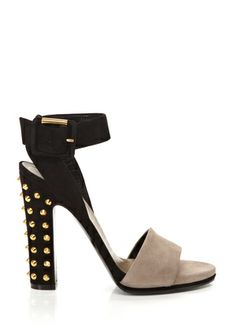 GUCCI Madison Stud High Heel Sandal $505, down from $810. js