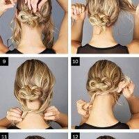 Step by step tutorials Messy Bun, Trendy Hairstyles, Medium Hair Styles, Bobby Pins, Hair Accessories, Dreadlocks, Beauty, Women, Hair Ideas