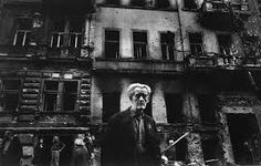 Prague, Vinohradska Avenue, August 1968 - Invasion of Warsaw Pact troops (by Josef Koudelka) Prague Spring, Classic Photographers, Joseph, Warsaw Pact, Photographer Portfolio, Magnum Photos, Documentary Photography, French Artists, Street Photography