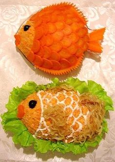 Image detail for -Bento is beautiful - Japanese food art - 53 Pics Edible Food, Edible Art, Food Art Bento, Ocean Food, Japanese Food Art, Japanese Treats, Fruit And Vegetable Carving, Incredible Edibles, Food Displays