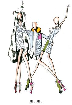 ILLUSTRATIONS | The Top Eleven Looks of Paris Fashion Week - NOWFASHION