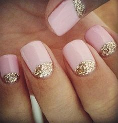 This is a pretty nail design and easy to achieve #WeAreIrresistible