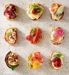 Spanish tapas are small bites that pack big flavor making them perfect for a cocktail party. #appetizers