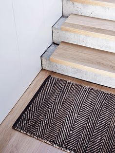 Serengeti Weave | Armadillo&Co  Need some kind of rug at the back door in basement