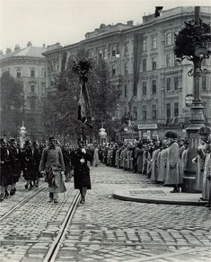 Militärparade Ringstrasse Wien