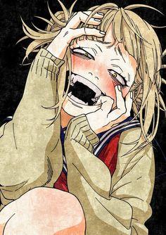 Himiko Toga-Boku No Hero Academia # Anime Manga Anime, Anime Nerd, Hero Academia Characters, Anime Characters, Fictional Characters, Manga Japan, Yandere Girl, Himiko Toga, Hero Girl
