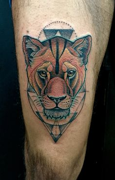 Lion neotraditional tattoo By Juan David Castro R Tattoo 2015, Neo Traditional Tattoo, Animal Tattoos, Lion, Animals, Tattoo Ideas, David, Tatoo, Slip On