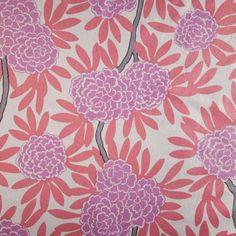 Berry Fleur Chinoise Fabric (caitwilson)