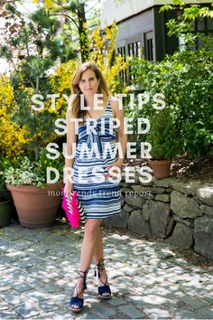 Cute Striped Summer