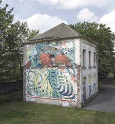 https://barbarapicci.com/2016/08/10/aryz-ghent/ #visitgent gent ghent belgium europe travel visit tourism street art graffiti